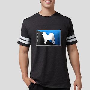 3-blueblack Mens Football Shirt