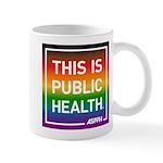 Pride Circle Logo Mugs