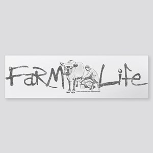 Farm Life Sticker (Bumper)