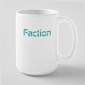 Faction Blue Large Mug