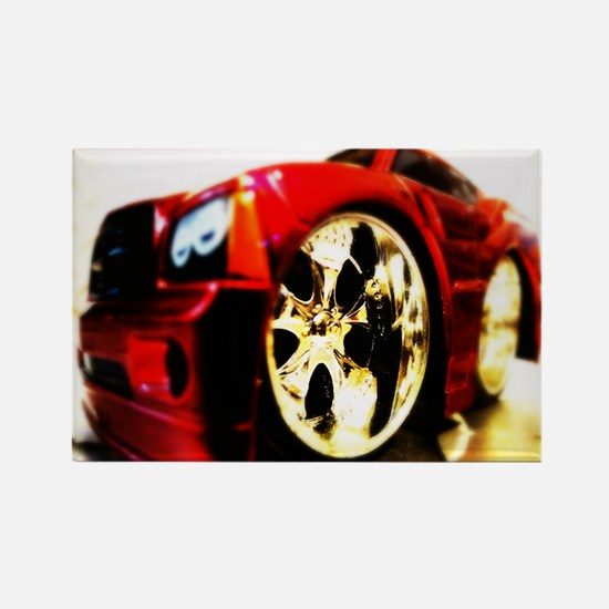Dodge Charger Sports Car Auto Rectangle Magnet