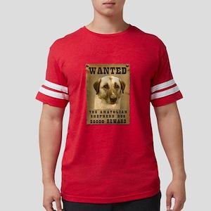 9-Wanted _V2 Mens Football Shirt