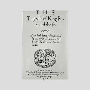 Richard II 1597 Rectangle Magnet