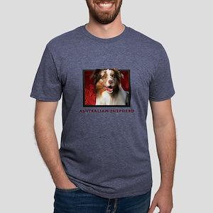 6-redblock Mens Tri-blend T-Shirt