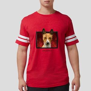 7-redblock Mens Football Shirt