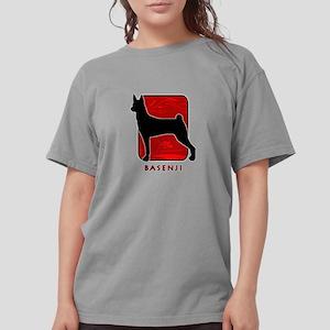 11-redsilhouette Womens Comfort Colors Shirt