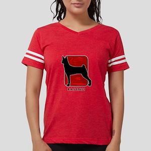 11-redsilhouette Womens Football Shirt