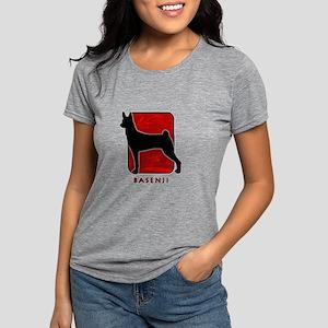 11-redsilhouette Womens Tri-blend T-Shirt