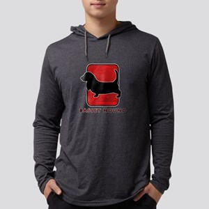 13-redsilhouette Mens Hooded Shirt