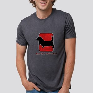 13-redsilhouette Mens Tri-blend T-Shirt