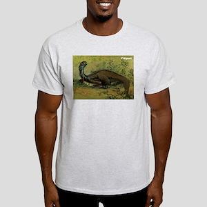 Citipati Dinosaur (Front) Ash Grey T-Shirt