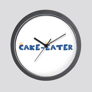 Cake-Eater Wall Clock