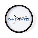Cake-Eater Wall Clock
