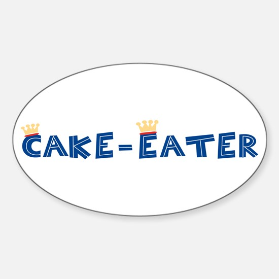 Cake-Eater Oval Decal