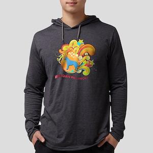 18-retro Mens Hooded Shirt