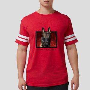 10-redblock Mens Football Shirt