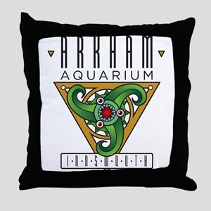 Arkham Aquarium (Innsmouth) Throw Pillow