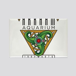 Arkham Aquarium (Innsmouth) Rectangle Magnet