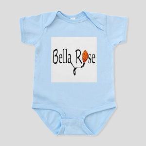 Bella Rose (orange) Enthusiastic Infant Bodysuit
