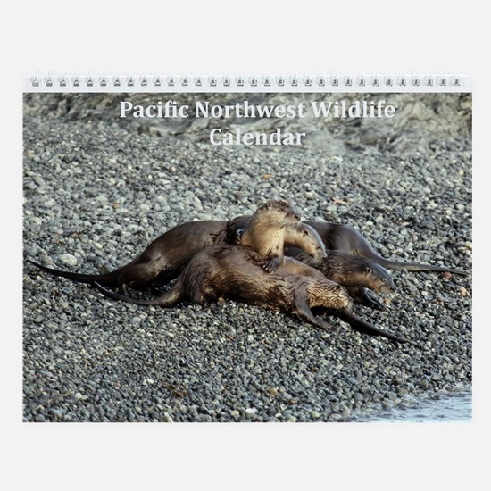 Wall Calendar-Pacific Northwest Wildlife