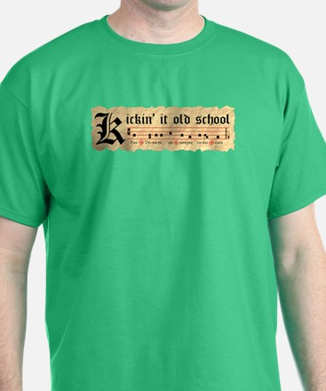 """Kickin' It Old School"" T-Shirt"