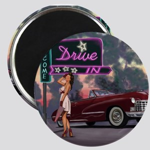 Welcome Drive In Magnet