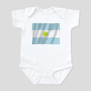 Pure Flag of Argentina Infant Bodysuit