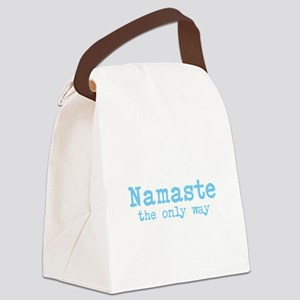 Namaste: The Only Way Canvas Lunch Bag