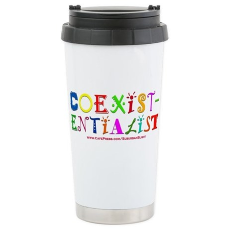Coexistentialist Stainless Steel Travel Mug