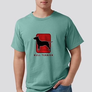27-redsilhouette Mens Comfort Colors Shirt