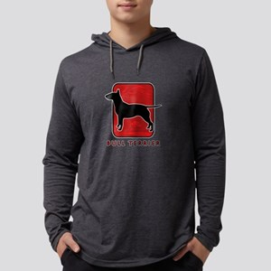 27-redsilhouette Mens Hooded Shirt