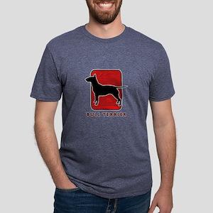 27-redsilhouette Mens Tri-blend T-Shirt