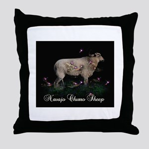 Navajo Churro sheep Throw Pillow