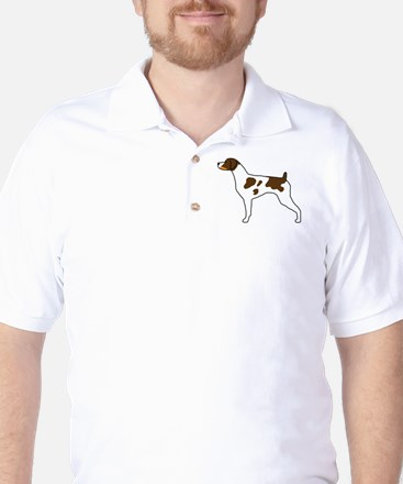Tri-Color Brittany Golf Shirt