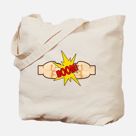 Fist Bump BOOM! Tote Bag