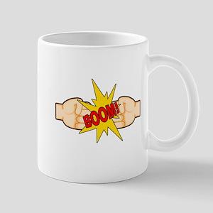 Fist Bump BOOM! Mug