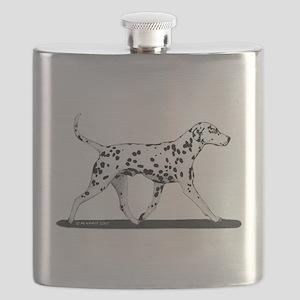 Dalmatian Flask