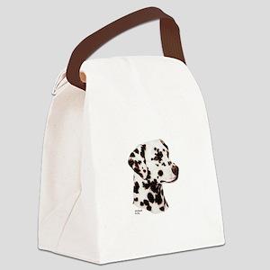 Dalmatian Canvas Lunch Bag