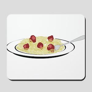 Spaghetti Dinner Mousepad