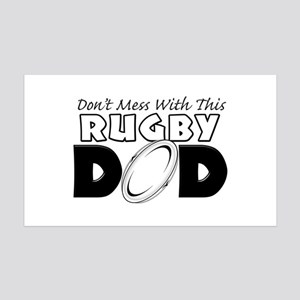 Dont Mess With This Rugby Dad copy 35x21 Wall