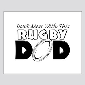 Dont Mess With This Rugby Dad copy Small Poste