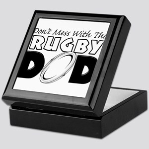 Dont Mess With This Rugby Dad copy Keepsake Bo