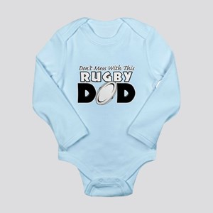 Dont Mess With This Rugby Dad copy Long Sleeve
