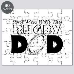 Dont Mess With This Rugby Dad copy Puzzle