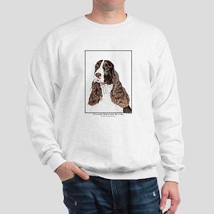 English Springer Spaniel Art Sweatshirt
