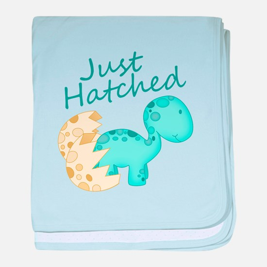 Just Hatched! Baby Dinosaur baby blanket