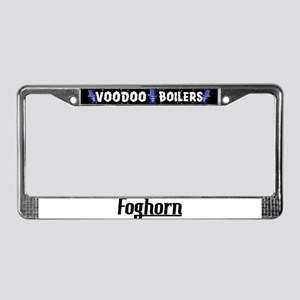 Foghorn License Plate Frame