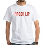 Freak Lip White T-Shirt