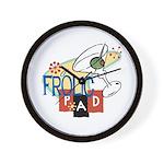 Frolic Pad Wall Clock