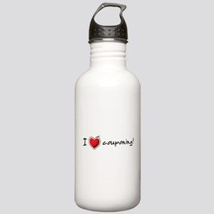 I <3 COUPONING! Stainless Water Bottle 1.0L